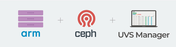 Mars 400 Ceph storage appliance is integrated tuning community Ceph and UVS manager (Ceph GUI software) onto ARM based microserver as a turnkey solution to Ceph users.